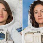 В открытый космос вышли сразу две женщины